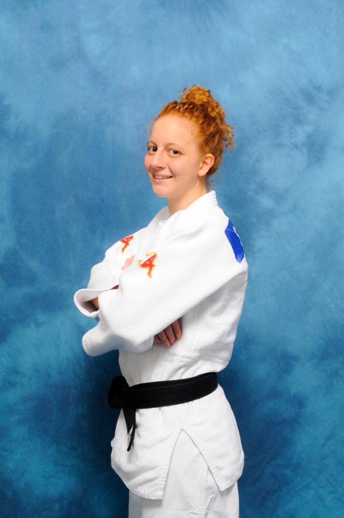 Sara, Cintura Nera II Dan Judo